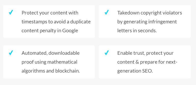 WordProof Features