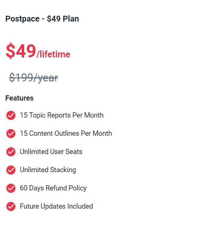 PostPace Lifetime Deal